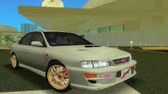 Subaru Impreza WRX STI GC8 Sedan Type 2 для GTA Vice City