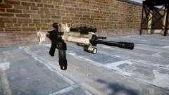 Автоматический карабин Colt M4A1 choco для GTA 4
