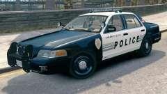 Ford Crown Victoria LCPD [ELS] Pushbar для GTA 4