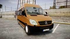 Mercedes-Benz Sprinter 313 cdi для GTA 4