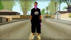 East Side Ballas Skin 2 для GTA San Andreas