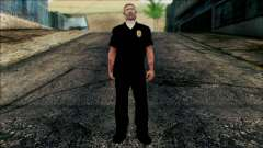Офицер Карвер из Cutscene для GTA San Andreas