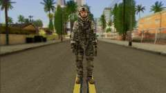 Task Force 141 (CoD: MW 2) Skin 2 для GTA San Andreas