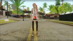 Sarah from Final Fantasy XIII для GTA San Andreas