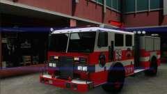SAFD BRUTE Firetruck для GTA San Andreas