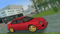 Subaru Impreza WRX 2002 Type 4 для GTA Vice City
