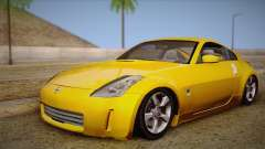 Nissan 350Z Turkey Tuned Drift для GTA San Andreas