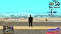 C-HUD by Radion edited SampHack для GTA San Andreas