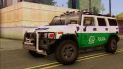 Hummer H2 Colombian Police для GTA San Andreas