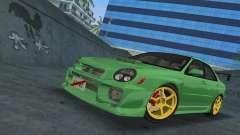 Subaru Impreza WRX 2002 Type 3 для GTA Vice City