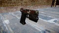 Пистолет Glock 20 bloodshot
