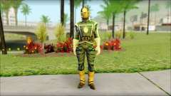 Guardians of the Galaxy Star Lord v1 для GTA San Andreas