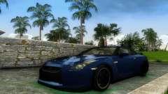 Nissan GT-R SpecV Black Revel для GTA Vice City