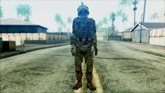 Солдат из команды Фантом 3 для GTA San Andreas