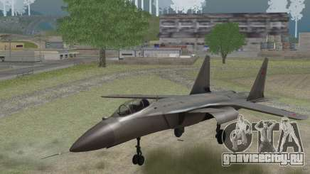Sukhoi SU-47 Berkut from H.A.W.X. 2 Stealth Skin для GTA San Andreas
