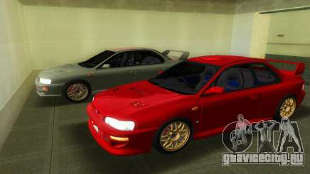 Subaru Impreza WRX STI GC8 22B для GTA Vice City