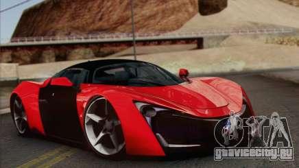 Marussia B2 для GTA San Andreas