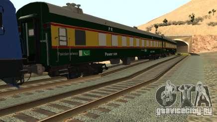 Pakistan Railways Train для GTA San Andreas