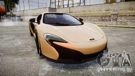 McLaren 650S Spider 2014 [EPM] Pirelli v2 для GTA 4