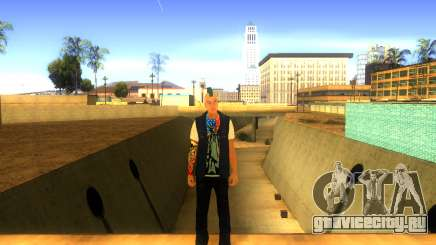 Панк v2 для GTA San Andreas