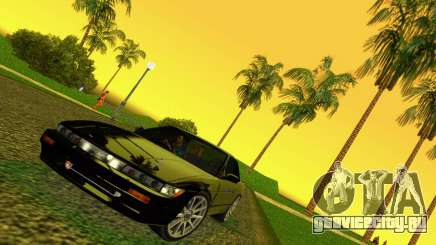 Nissan Silvia S13 RB26DETT Black Revel для GTA Vice City