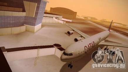 Airbus A340-600 Qatar Airways для GTA San Andreas