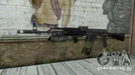 АК-101 с подствольником (Battlefield 2) для GTA San Andreas