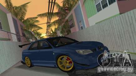 Subaru Impreza WRX STI 2006 Type 2 для GTA Vice City