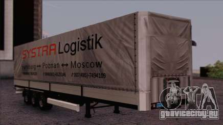 Krone SPD27 Systra Logistik для GTA San Andreas