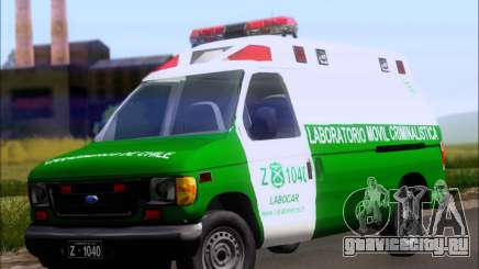 Ford E-150 Labocar для GTA San Andreas