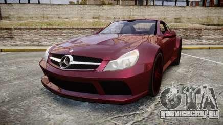Mercedes-Benz SL 65 AMG Black Series для GTA 4