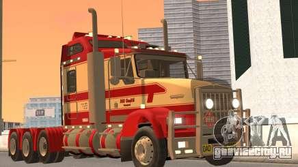 Kenworth T800 Road Train 8X6 для GTA San Andreas