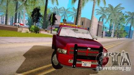 Dodge Ram Tow-Truck для GTA San Andreas