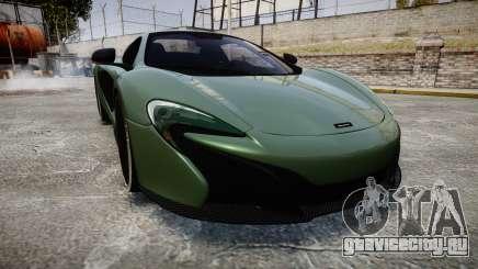 McLaren 650S Spider 2014 [EPM] Continental для GTA 4