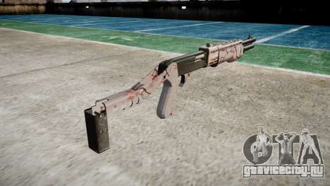 Ружьё Franchi SPAS-12 Cherry blossom для GTA 4 второй скриншот