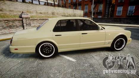 Bentley Arnage T 2005 Rims1 Black для GTA 4 вид слева