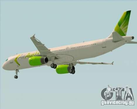 Airbus A321-200 Air Australia для GTA San Andreas вид сбоку