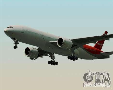Boeing 777-21BER Nordwind Airlines для GTA San Andreas вид сбоку