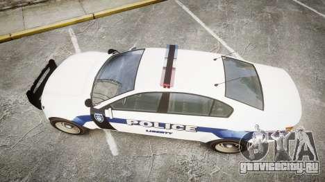 GTA V Cheval Fugitive LS Liberty Police [ELS] для GTA 4 вид справа