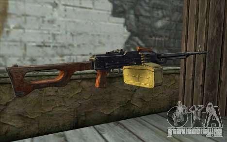 Пулемет Калашникова Модернизированный для GTA San Andreas второй скриншот