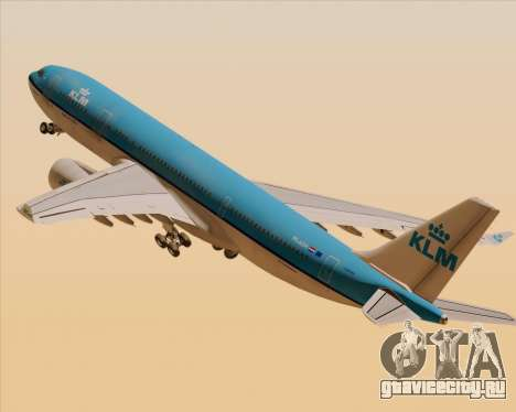 Airbus A330-200 KLM - Royal Dutch Airlines для GTA San Andreas