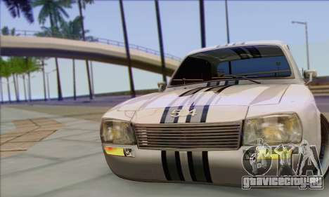 Peugeot 504 Drift Tuning для GTA San Andreas вид справа