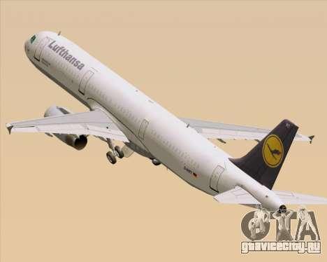 Airbus A321-200 Lufthansa для GTA San Andreas