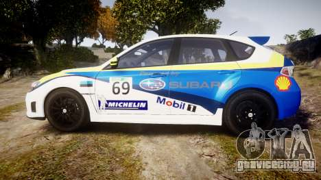 Subaru Impreza Cosworth STI CS400 2010 Custom для GTA 4 вид слева