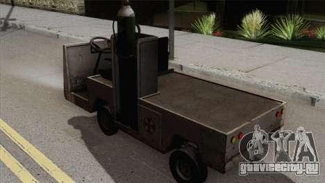 Umbrella Cart для GTA San Andreas вид слева