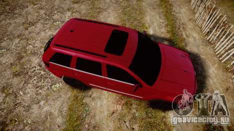 Jeep Grand Cherokee SRT8 license plates для GTA 4 вид справа