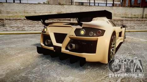 Gumpert Apollo S 2011 для GTA 4 вид сзади слева