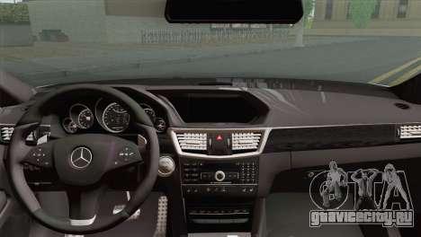 Mercedes-Benz E63 AMG 2014 ДПС для GTA San Andreas вид сзади слева