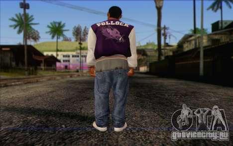 Ballas from GTA 5 Skin 2 для GTA San Andreas второй скриншот