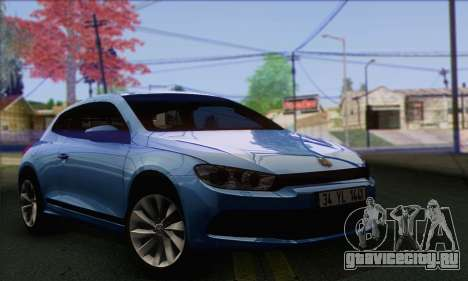 Volkswagen Scirocco 2011 для GTA San Andreas